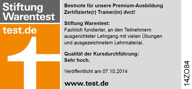 Bestnote von Stiftung Warentest!