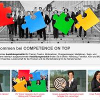 Neuer Webauftritt des Competence on Top Trainer-Netzwerks