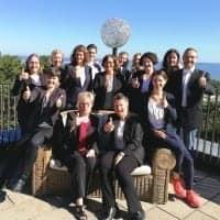 Gruppenfoto der Mitarbeiter von Competence on Top beim Treffen zum Thema Digitalisierung