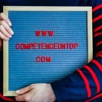 Letterboard von Competence on Top zu den Zusatzterminen 2019 und 2020