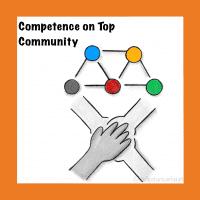 Projektvorstellung für intensives Lernen bei Competence on Top: die Community