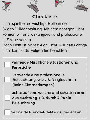 Checkliste für Technik gelungener Webinare