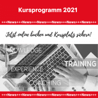 neues Kursprogramm 2021